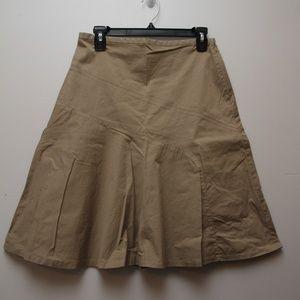 GAP Sz. 4 Tan A-line Skirt